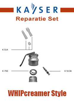 [2a] Kayser WHIPcreamer Style Reparatie Set